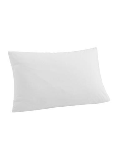 Decovilla  Yastık Alezi 50x70 Pamuklu Sıvı Geçirmez Beyaz
